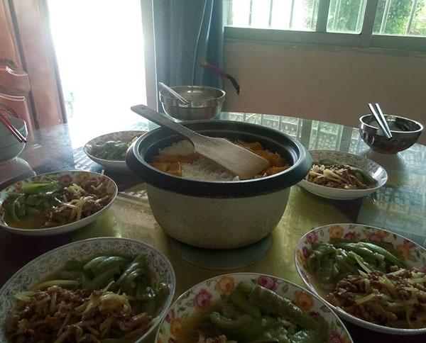 蓬安营养午餐